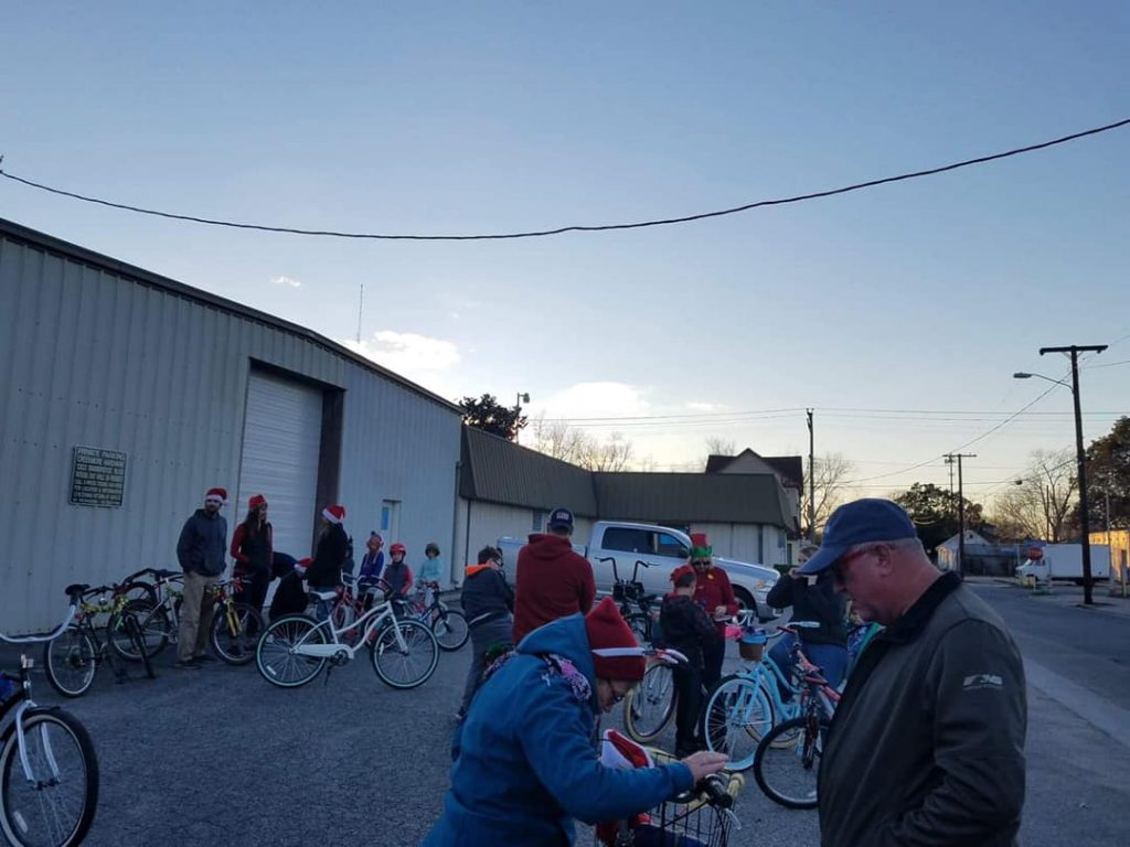 2018 Holiday Bike Parade