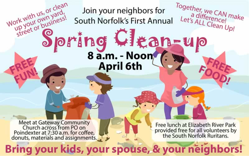 Spring Cleaning: South Norfolk Community Clean-up Day planned April 6