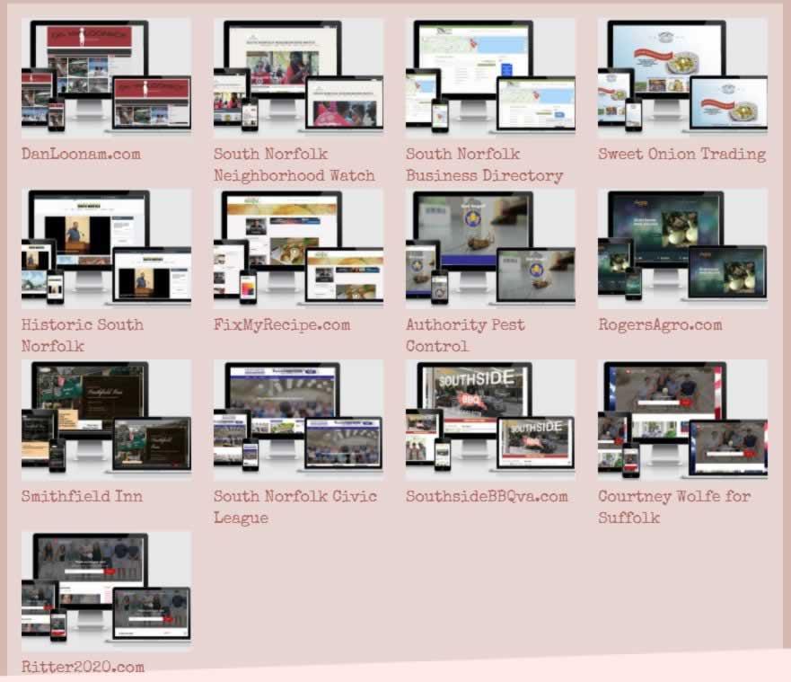 Websites by Suzy Loonam
