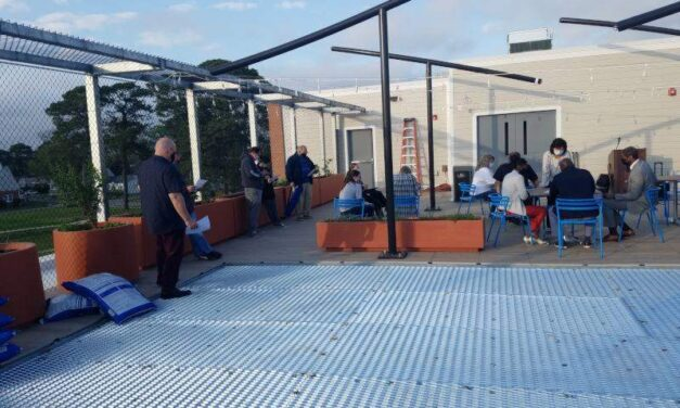 Grants for homeowners and businesses tops news at rooftop meeting